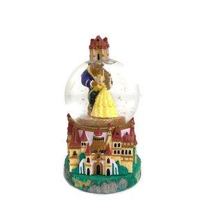 Disney Beauty and The Beast Castle Mini Snow Globe